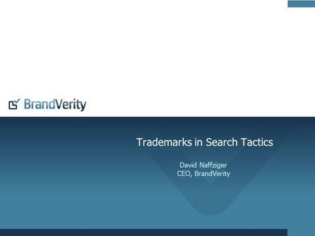 Trademarks in Search Tactics