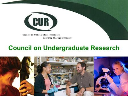"Council on Undergraduate Research. ""Learning Through Research"""