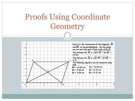 coordinate geometry proofs worksheet pdf