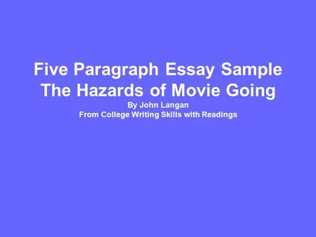 essay writing skills with readings langan Connect writing coupled with college writing skills with readings provides the foundation for your grammar study and tools to support the writing process.