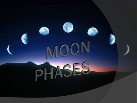 The Big Idea  Students will understand that the appearance of the moon changes in a predictable cycle as it orbits Earth and as Earth rotates on its.