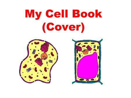 My Cell Book (Cover).