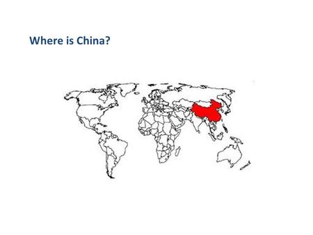 Where is China?. Can you name some neighboring countries of China? Japan, Korea, Vietnam, Mongolia, Russia, India, Thailand.