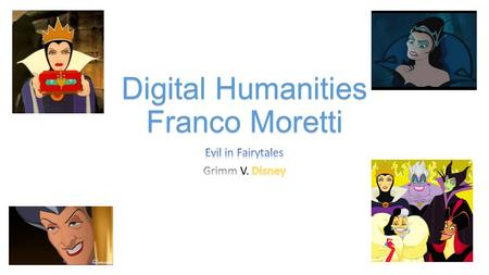 "Digital Humanities Franco Moretti. ""Abstract Models for literary History…"" (8). In correspondence with the Digital Humanities effort, Franco Moretti in."
