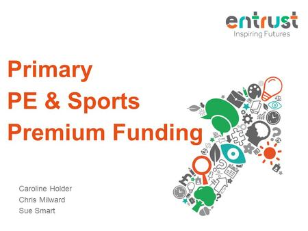 Primary PE & Sports Premium Funding Caroline Holder Chris Milward Sue Smart.