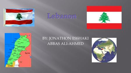 BY: JONATHON ESSHAKI ABBAS ALI-AHMED. The population in Lebanon is 4.47 million. During the year of 1999.