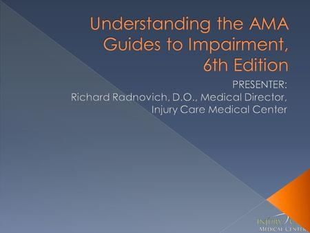 guides to the evaluation of permanent impairment sixth edition download