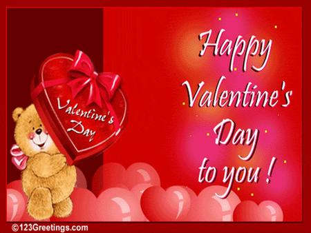 The word Valentine has two meanings. It can imply a card sent or given to a sweetheart) on Saint Valentine's Day. It can also indicate any particular.