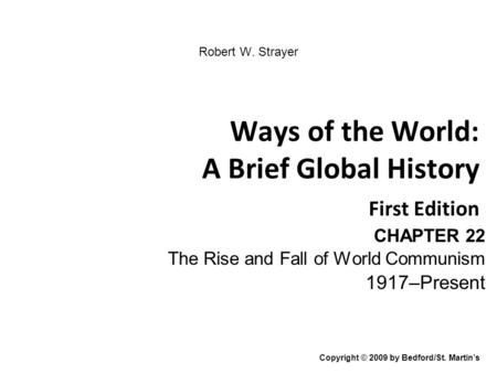 an introduction to the history of the fall of communism World war ii and the rise of communism,  in modern albanian history,  and called for the creation of a republic and the introduction of some economic and .