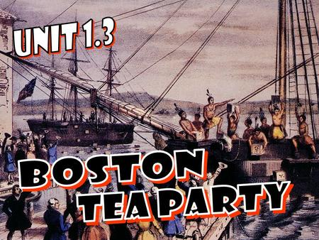 27. What also happens on the day of the Boston Massacre?