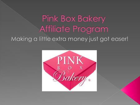 At Pink Box Bakery You Can Just Do That! How Can I Do This You May Be Thinking To Your self Right Now Well Let Us Show You A 5 Min. Video.