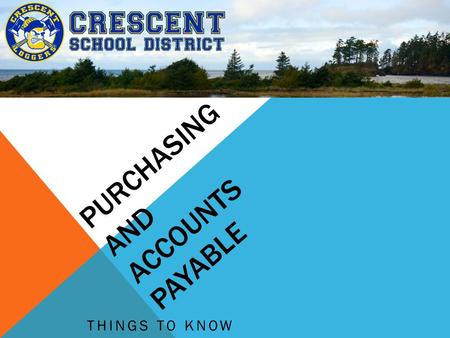 PURCHASING AND ACCOUNTS PAYABLE THINGS TO KNOW. DEFINITIONS REQUISITIONS - Formal authorization to make a purchase - getting permission to buy something.
