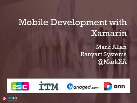 Mobile Development with Xamarin Mark Allan Ranyart