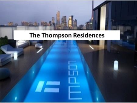 The Thompson Residences. A total of 3,919 condominium apartments were leased in Q1-2013 on the MLS system, up by 31% from a year ago. A total of 3,919.