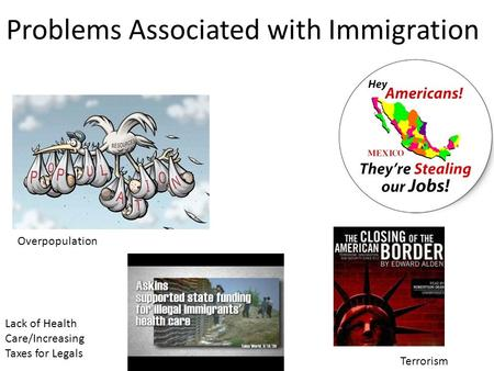 immigrants problems Illegal immigration news & political action to stop illegal immigration and any form of amnesty for illegal immigrants.