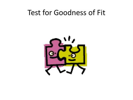 Test for Goodness of Fit. The math department at a community college offers 3 classes that satisfy the math requirement for transfer in majors that do.