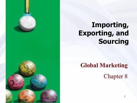 Importing, Exporting, and Sourcing