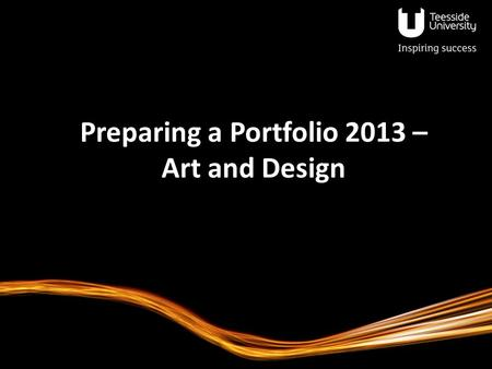 Preparing a Portfolio 2013 – Art and Design. The Design Industry in the UK? UK design industry has grown since 2005, despite the recession 28% are freelance/