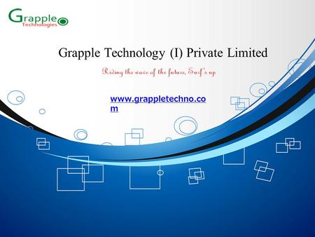 Grapple Technology (I) Private Limited www.grappletechno.co m.