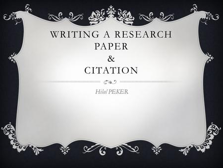 integrating quotes into a research paper