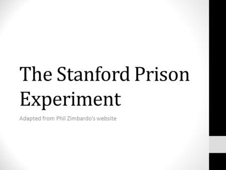 ethical issues stanford prison experiment One of the primary ethical concerns of spe was the lack of fully informed consent (mcleod, 2016)while zimbardo had all participants sign informed consent forms, even he did not know what would happen due to the unpredicatable nature of the experiment (zimbardo et al, 2000.