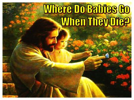 "2 Text Matt. 19:14 (KJV) –""But Jesus said, Suffer little children, and forbid them not, to come unto me: for of such is the kingdom of heaven."" Matt."