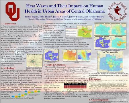 1.Introduction Heat waves are common occurrences around the world and have been projected to increase in frequency, intensity, and longevity in the future.