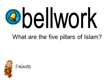 What are the five pillars of Islam?. Read Section Ch. 9. 2 Cornell Notes Daily Quiz Ch.9.2 Notes x3 Trace, label, color Map on page 209 Extension: Brochure.