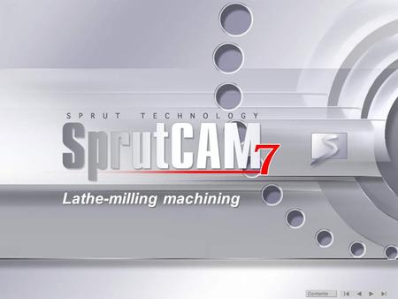 Lathe-milling machining Contents. Geometry model In this example the part is an imported 3D model and the workpiece is drafted in the built-in 2D Geometry.
