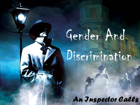 Gender And Discrimination