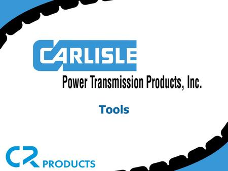 Tools. Unlock the power of the tools in the Carlisle Tool-Crib to help you design, install and tension your belt drives.
