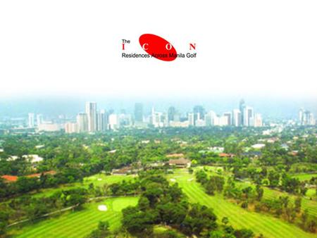 Located at the primest property in Bonifacio Global City. 360 degree view of the Manila Golf, Antipolo hills and Makati Skyline. The only eye-shaped.