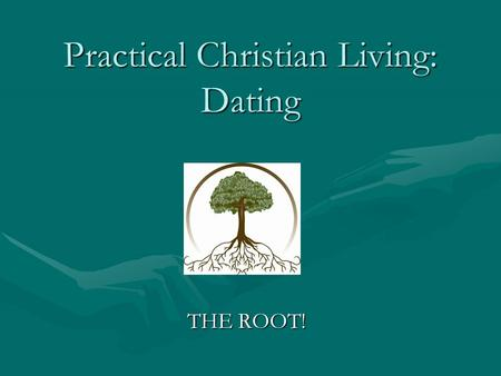root christian personals As a bipolar christian i believe my illness has a biological basis, and although it has spiritual dimensions, it is not, at root, the work of the devil however, the devil can work through it by creating temptation.