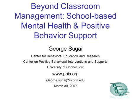 Pbis Lit Positive Behavioral Intervention and Support&nbspEssay