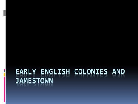 What motivated England to colonize the New world?