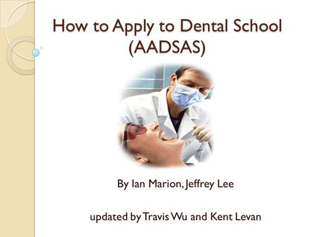 Top dental schools   admission requirements  UIC  College of Dentistry   University of Illinois at Chicago Most Popular Documents for CHEM