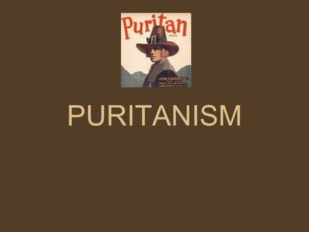 "PURITANISM. Puritan Beliefs The Puritan belief is based around God's supreme power over all human affairs. Puritanism refers to ""purifying"" the Church."