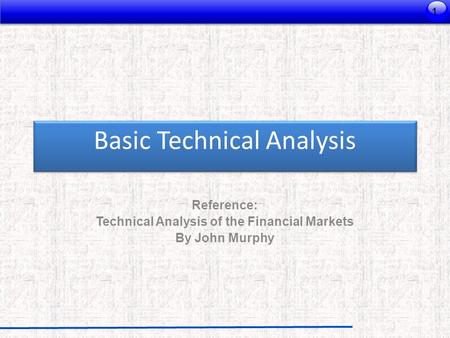 Basic Technical Analysis