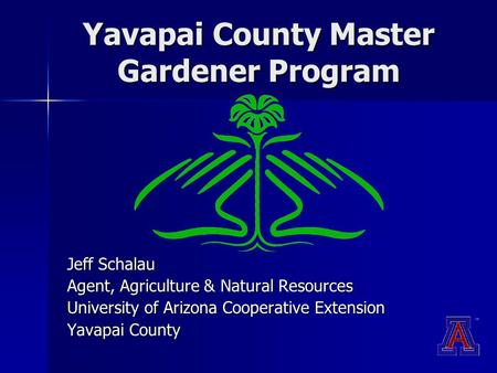 Yavapai County Master Gardener Program