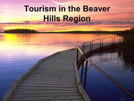 Tourism in the Beaver Hills Region. Outline Overview of Tourism in BHI Current Tourism Initiatives Future Tourism Research, Planning, and Development.