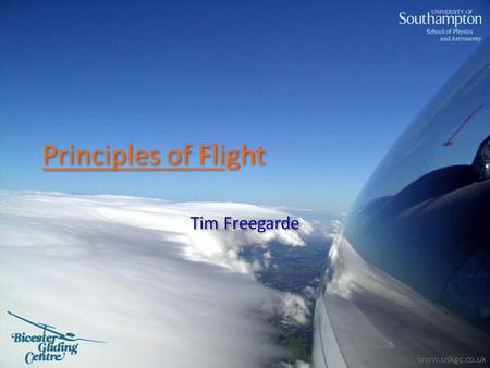Principles of Flight Tim Freegarde