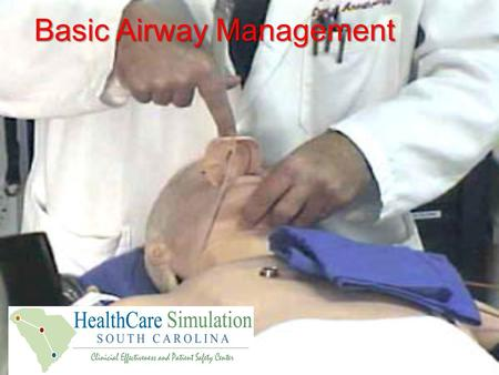 Basic Airway Management. Review of Important Facts and Concepts: Airway Anatomy Airway Assessment Review basic drugs and equipment setup for managing.