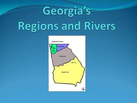 Georgia's Regions and Rivers