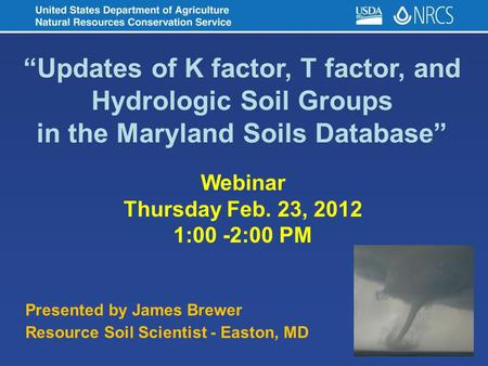 in the Maryland Soils Database""