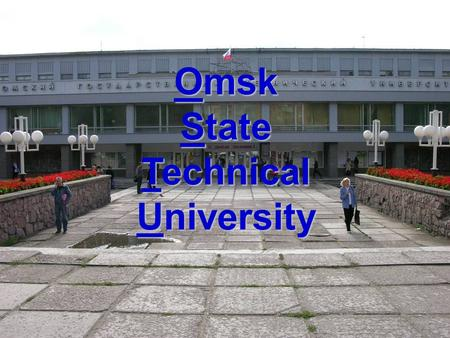 Omsk State Technical University. Power Supply of Industrial Enterprises.