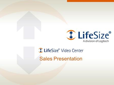 Sales Presentation. - LifeSize Confidential. For Partner Use Only - Page 2 Agenda Introducing LifeSize® Video Center Your organization's needs LifeSize.