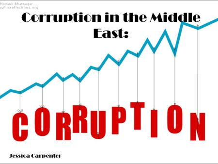 Corruption in the Middle East: Jessica Carpenter.
