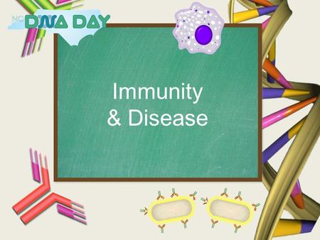 Immunity & Disease. What is DNA? What is DNA Day?