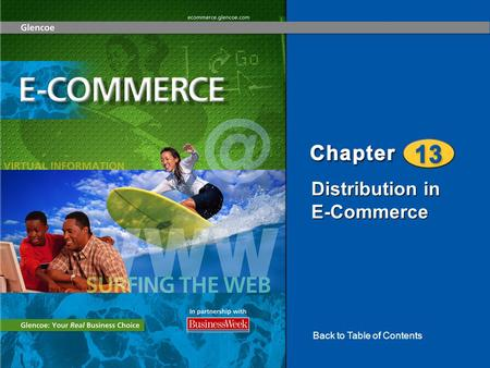 Distribution in E-Commerce Back to Table of Contents.
