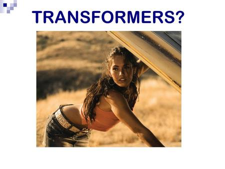 TRANSFORMERS?. Effects of electric current An electric current that flows in a conductor has a number of effects: 1. HEATING The friction caused by the.